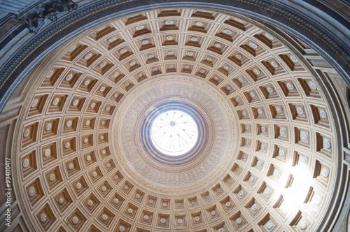 Fotografia  Interno cupola Pantheon
