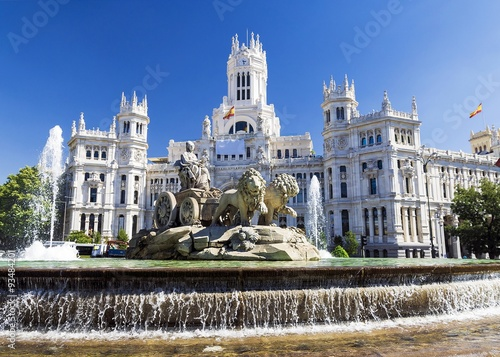 Cadres-photo bureau Fontaine Cibeles Fountain - a fountain in the square of the same name in