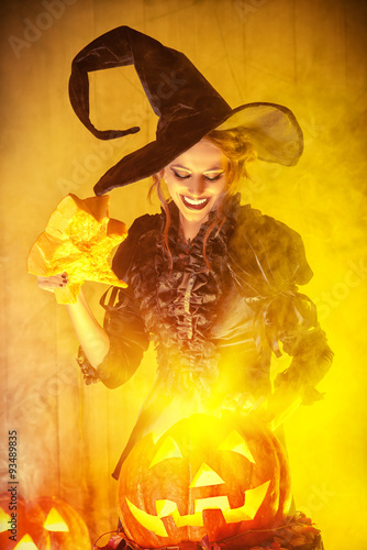 Plakát fairy witch