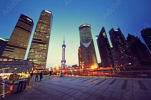 Foto op Aluminium Shanghai Pudong financial district Shanghai, China