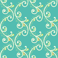 Seamless Pattern With Branch