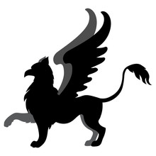 Silhouette Hippogriff