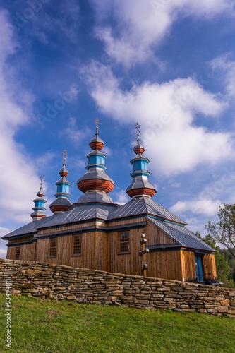 Fototapety, obrazy: Cerkiew w Komańczy