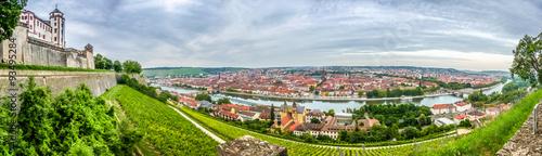 Foto  Historic city of Würzburg, Franconia, Bavaria, Germany