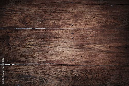 Türaufkleber Holz Wooden Wall Scratched Material Background Texture Concept