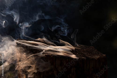 Fotografering  Mysterious Smoke
