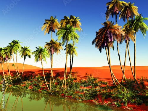 African Oasis Buy This Stock Illustration And Explore Similar