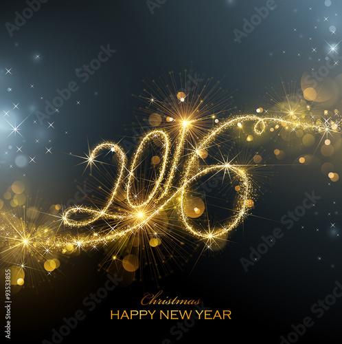 Fotografia  New Year 2016 fireworks