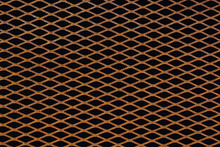 Rusty Grid From Expanded Metal