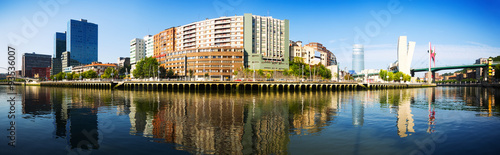 Fototapeta  Panorama of Bilbao