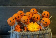 Хэллоуин в корзинке