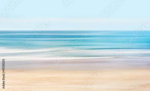 Canvas Print Hi-Key Abstract Seascape