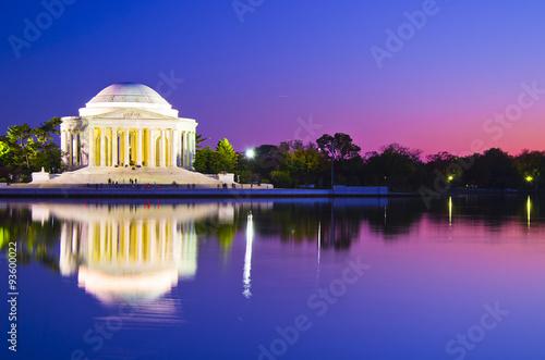 Fototapeta Thomas Jefferson Memorial in Washington DC, USA obraz