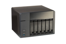 NAS At 6 Compartments For HD