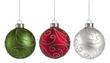 canvas print picture - Christmas Ornaments