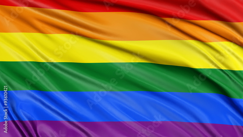 Fototapeta Rainbow Gay Pride Flag