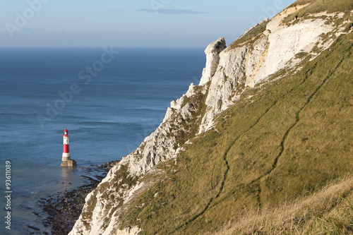 Fotografie, Obraz  Beachy Head Cliffs, England