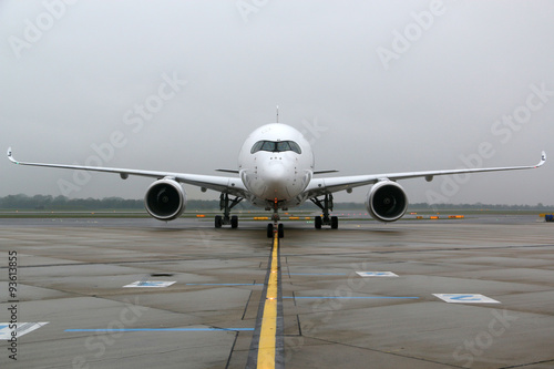 Photo Airbus A350 frontal