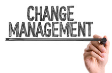 Hand With Marker Writing: Change Management