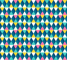 Argyle Seamless Pattern, Four ...