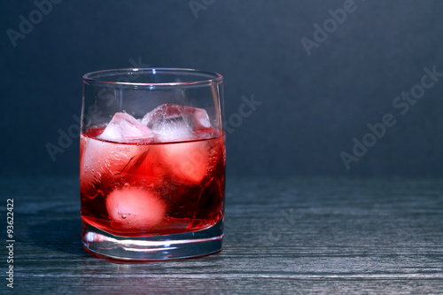 Photo  Drink With Ice