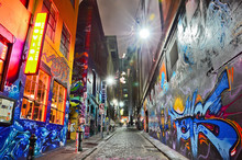 View Of Colorful Graffiti Artw...