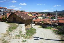 Road Through The Turkish Village