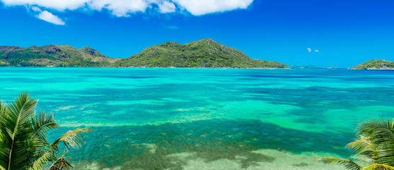 Beautiful Coast of Praslin, Seychelles
