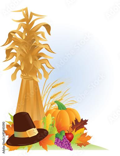 Vászonkép Thanksgiving Harvest