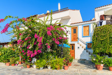 Traditional Greek House With B...
