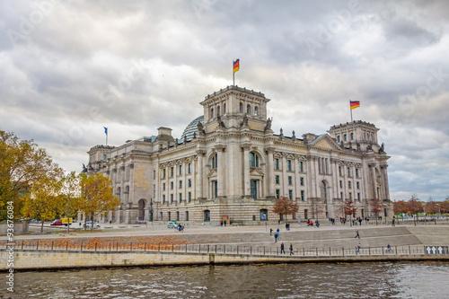 Fotobehang Berlijn Reichstag, Berlin