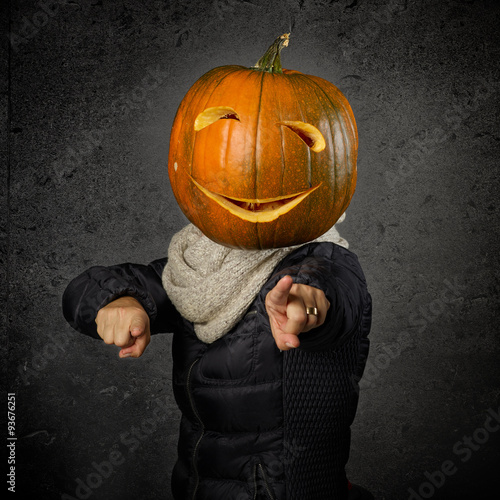 Keuken foto achterwand Bossen Halloween pumpkin