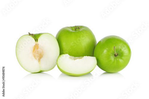 Poster Légumes frais Jujube fruit isolated on white background