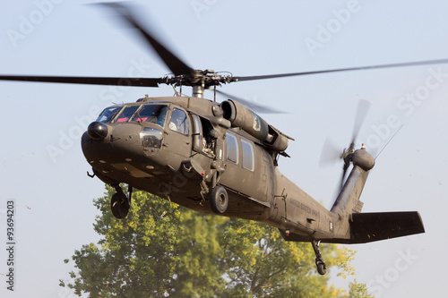 fototapeta na szkło American army helicopter