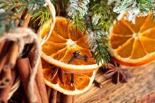 Dried Oranges.