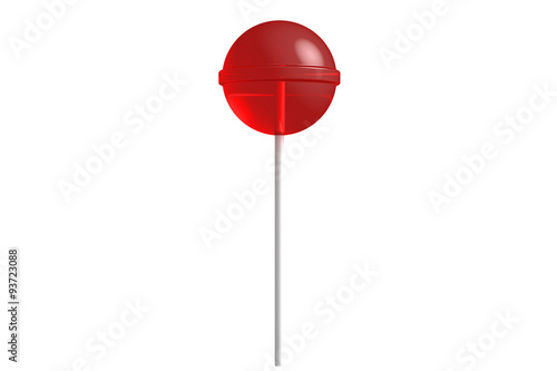 Fotografia, Obraz Red lollipop
