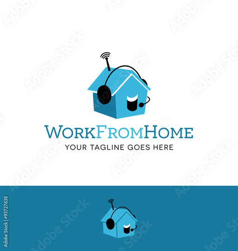 logo design for employment agency or home business Poster