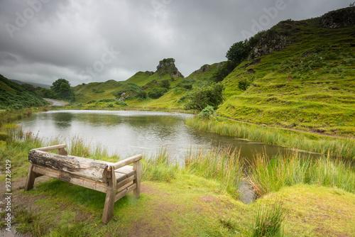 Photo  The Fairy Glen on Isle of Skye, Scotland