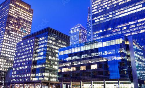 In de dag Berlijn Windows of Skyscraper Business Office, Corporate building in London