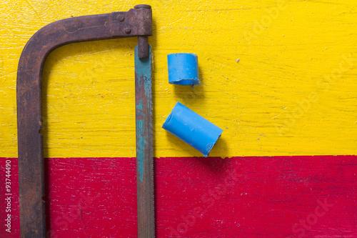 Fotografie, Obraz  hacksaw frame