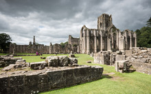 Fountains Abbey, North Yorkshi...