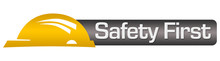Safety First Yellow Black Hori...