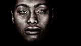 Afro Amerykańska kobieta - 93767805