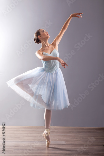 Fotografie, Tablou  young ballerina in ballet pose classical dance