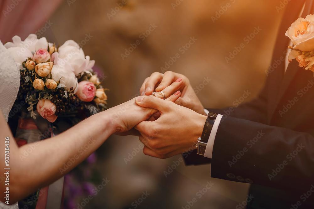 Fototapety, obrazy: ceremony wear RING