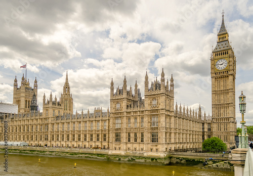 Fotografia  Palace of Westminster, Houses of Parliament, London
