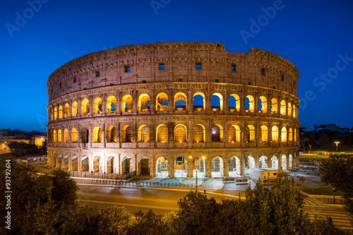 Fotografie, Obraz  Kolosseum v Rom Itálie