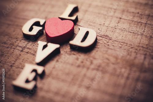 Fotografie, Obraz  God is Love