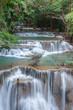 Beautiful cascade of Huay mae khamin waterfall