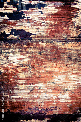 Poster Graffiti wood grungy background with space for your design